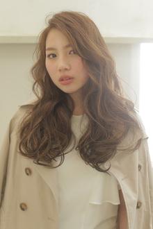 【抜け間×ふわふわ】ドラマティックロング|MODE K's 梅田店のヘアスタイル