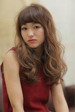 暗髪カラー〜ノスタルジーウェーブ〜|MODE K's 梅田店のヘアスタイル