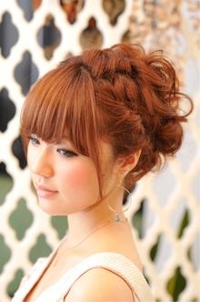 パーティ編みこみスタイル★|R-DRESSERのヘアスタイル