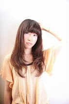 ニュアンシーロング 【カット+カラー+トリ】¥10.800|entrir 仙川店のヘアスタイル