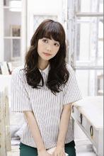 ツヤカール【カット+パーマ+トリ】10,800 entrir 仙川店 小林 瑞季のヘアスタイル