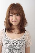 ナチュ可愛ストレート|entrir 仙川店のヘアスタイル