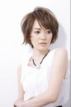 ヌーディショート|entrir 仙川店 本田 裕子のヘアスタイル