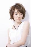 ヌーディショート|entrir 仙川店のヘアスタイル