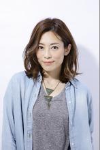 シフォンカール|entrir 仙川店 亀田 雅子のヘアスタイル
