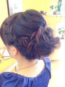 フェミニンセット|entrir 下高井戸店のヘアスタイル