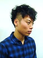 サイドパーマ|CuMARiのメンズヘアスタイル