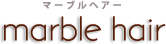 marble hair 西野店  | マーブルヘアー ニシノテン  のロゴ