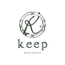 keep hair design  | キープ ヘアデザイン  のロゴ