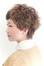 コットンショート☆パーマスタイル|keep hair designのヘアスタイル