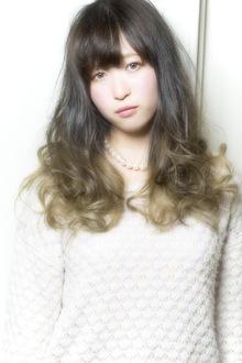 アンニュイロング☆グラデーションカラー keep hair designのヘアスタイル