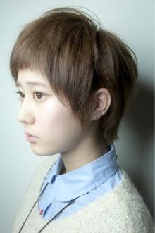 短めバングフレンチショート keep hair designのヘアスタイル