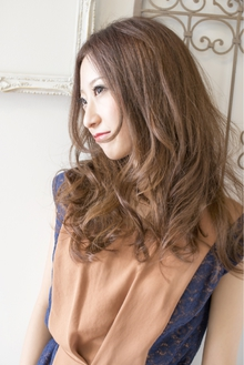 ヌーディカラー☆アンニュイフェミニンスタイル keep hair designのヘアスタイル