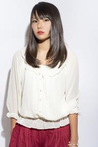 黒髪☆美髪ロングスタイル