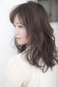 透明感up☆大人可愛いゆるふわセミディ