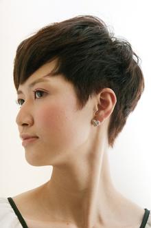 スタイリッシュショート keep hair designのヘアスタイル