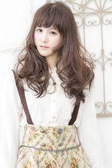 抜け感アップ☆ドーリーカール|keep hair designのヘアスタイル