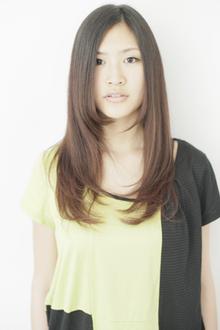 リラックスムードロング|keep hair designのヘアスタイル