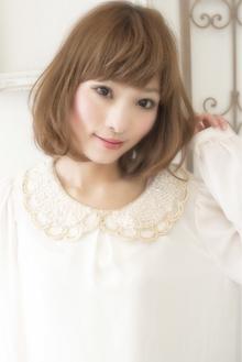 大人可愛い☆シフォンミディー|keep hair designのヘアスタイル