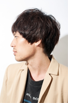 メンズマッシュショート|keep hair designのヘアスタイル