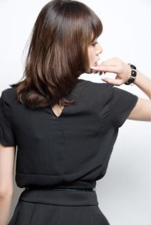 内巻きミディ|keep hair designのヘアスタイル