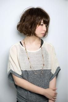 あごラインボブ☆ウェービーパーマ|keep hair designのヘアスタイル