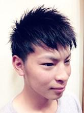 クール&スパイキー|hair garden ans. 上北沢店のメンズヘアスタイル