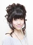 アップスタイル hair garden ans. 千歳烏山店のヘアスタイル
