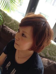 ふんわりキュートボブ|KALOHA private hairsalonのヘアスタイル