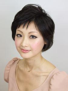 ふんわり春風ショート|KALOHA private hairsalonのヘアスタイル