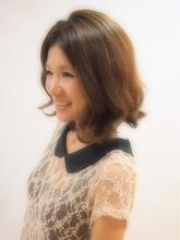 クセ毛風パーマ|KALOHA private hairsalon 木暮 アンナのヘアスタイル