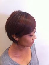 シルキーレッドブラウン☆|KALOHA private hairsalon 木暮 アンナのヘアスタイル