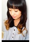 強めグラデーション|KALOHA private hairsalonのヘアスタイル