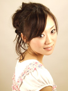 春にぴったり!作り込みすぎないcuteアップ☆|KALOHA private hairsalonのヘアスタイル