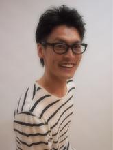 ツーブロック風ニュアンスパーマ|A.Qusis Kのメンズヘアスタイル