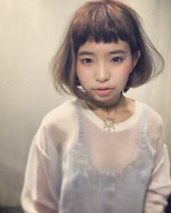 スタイルは重ためだけど軽く見えるボブ☆|stella 東向日店のヘアスタイル