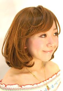 ガーリーボブ|Hair room Prismのヘアスタイル