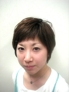 ナチュラルショート|Hair room Prismのヘアスタイル