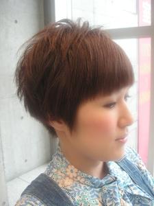 ヤンチャショート♪|Hair room Prismのヘアスタイル