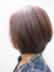 ナチュラルボブ|Hair room Prismのヘアスタイル