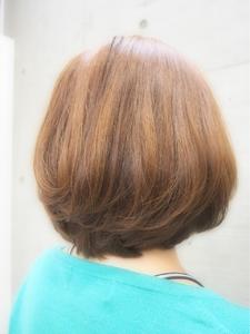 ワンカールボブ|Hair room Prismのヘアスタイル