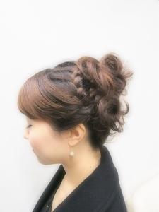 アップ|Hair room Prismのヘアスタイル