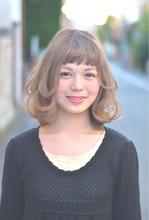 『PRESENCE BRAINS』モーブアッシュミディ|PRESENCE BRAINS 下北沢のヘアスタイル