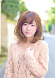 『PRESENCE BRAINS』ふんわりミディボブ|PRESENCE BRAINS 下北沢のヘアスタイル