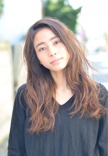 『PRESENCE BRAINS』巻かない☆ナチュラルカール|PRESENCE BRAINS 下北沢のヘアスタイル