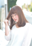『PRESENCE BRAINS』ツヤが引き立つナチュラルスタイル☆|PRESENCE BRAINS 下北沢のヘアスタイル