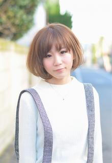 『PRESENCE BRAINS』大人可愛いボブ☆|PRESENCE BRAINS 下北沢のヘアスタイル