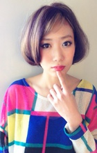 """""""Stripe color☆Blond gold""""