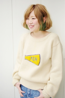 """milky moca&green""|beyond-""E""のヘアスタイル"