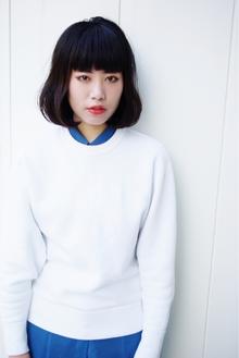 """blueblack☆BOB""|beyond-""E""のヘアスタイル"